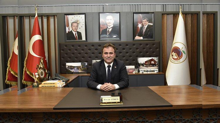 Başkan Çimen taziye mesajı yayınladı