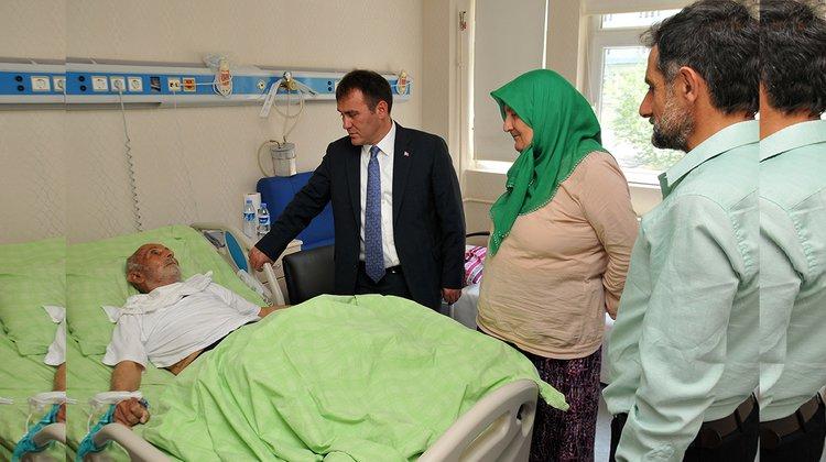 Başkan Çimen, hastaların bayramını kutladı