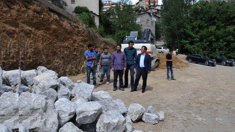 """Hasanbey Mahallesi'nde """"Örnek Mahalle"""" projesinin çalışmalarına başlandı"""
