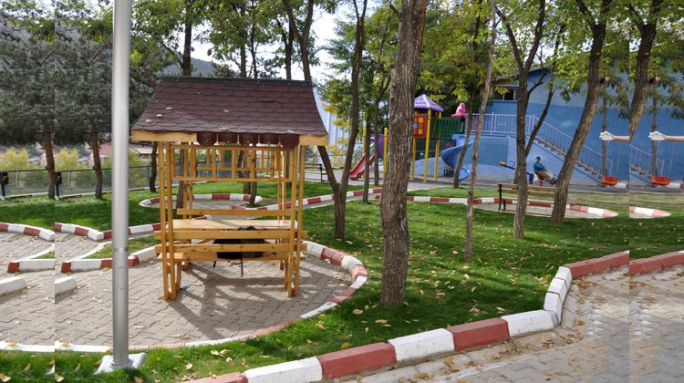 Çocuk parkları yenilendi