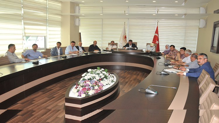 Belediye Meclisi Temmuz ayı toplantıları sona erdi