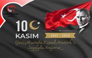 Başkan Çimen'in 10 Kasım Atatürk'ü Anma Mesajı